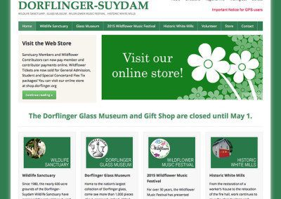 Dorflinger-Suydam Wildlife Sanctuary, Museum & Historic Locale
